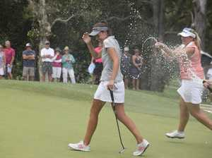 Golf - Women's NSW Open. Day4