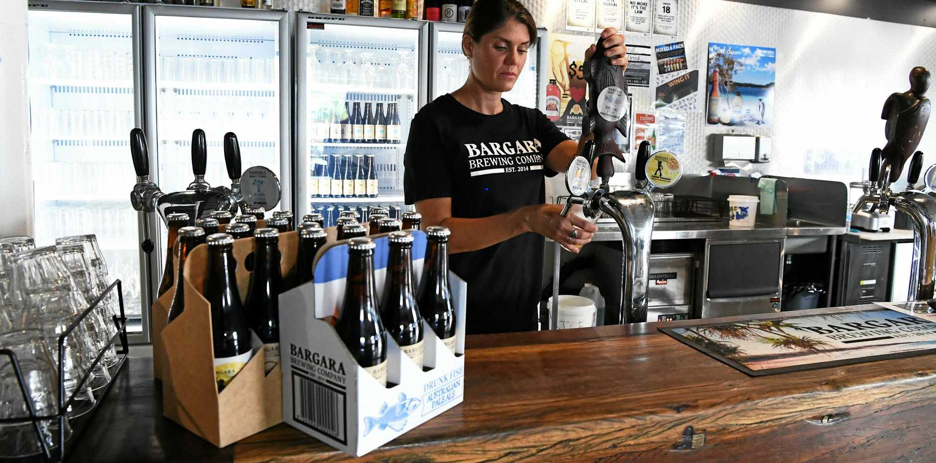 BREWING INDUSTRY: High taxes are crippling the opportunity to expand the business and create more revenue and job opportunities in Bundaberg.