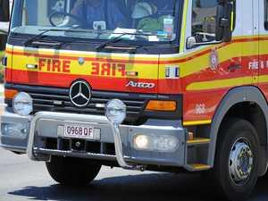 Car fire in Maryborough