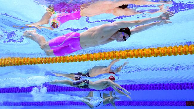 The Aussies are sending a huge swimming squad to the Gold Coast.