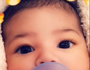 Kylie Jenner shows baby Stormi's face for the first time