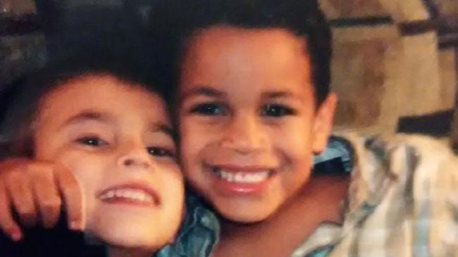 Nikolas and Zachary Cruz as children. Picture: Facebook