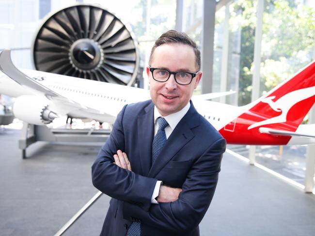 Qantas CEO Allan Joyce. Picture: The Australian/Renee Nowytarger