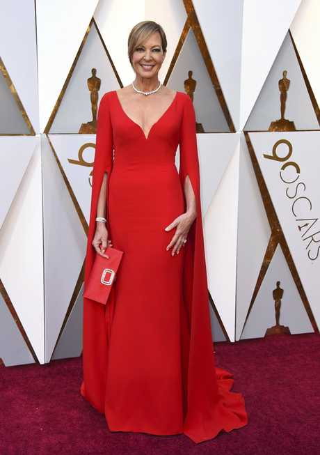 Allison Janney arrives at the Oscars on Sunday, March 4, 2018, at the Dolby Theatre in Los Angeles.