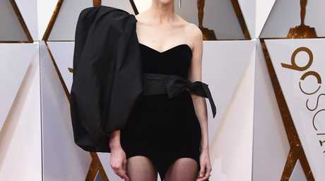 St. Vincent arrives at the Oscars on Sunday, March 4, 2018, at the Dolby Theatre in Los Angeles.