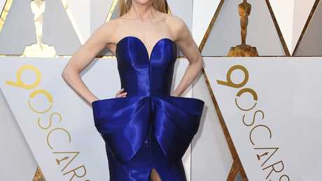 Nicole Kidman arrives at the Oscars on Sunday, March 4, 2018, at the Dolby Theatre in Los Angeles.