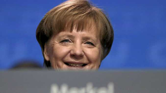 Merkel finally gets a coalition
