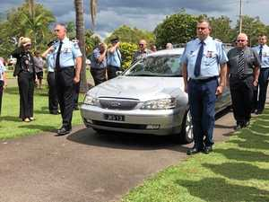 Loved ones, colleagues farewell Bundy's former top cop
