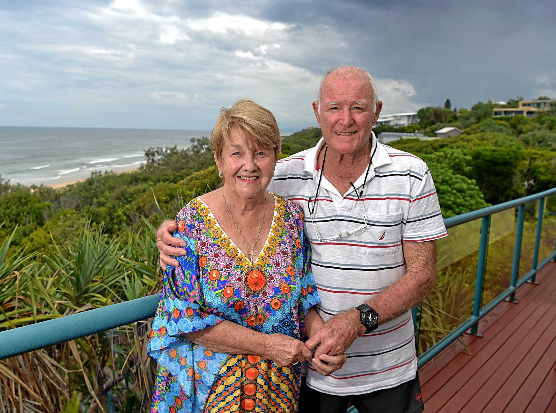 Jill and her husband Peter Smith have owned their Sunshine Beach property for 61 years.