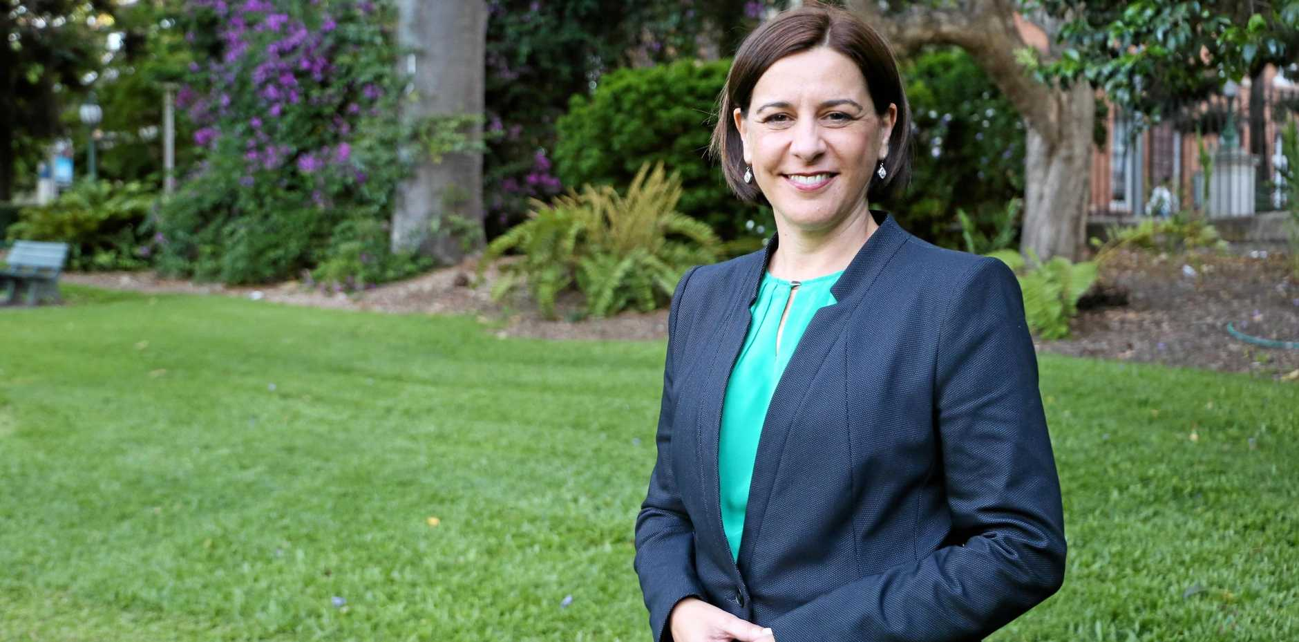 FOLLOW YOUR DREAMS: The Nanango MP and LNP Leader, Deb Frecklington, sheds light on success.