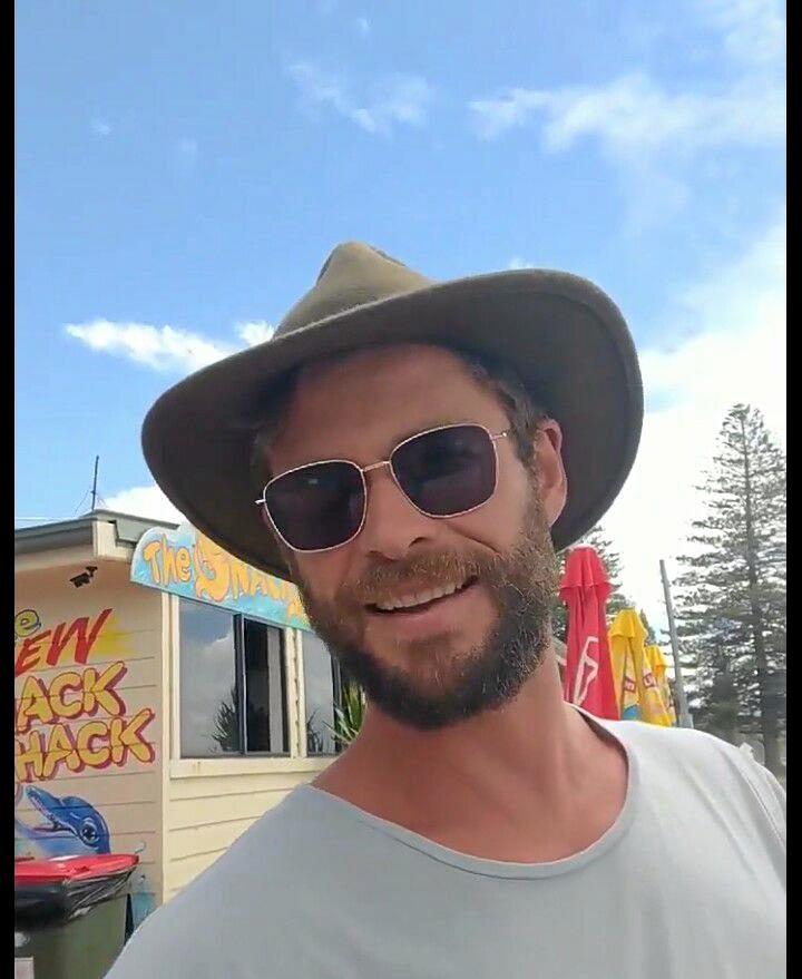 Chris Hemsworth at Brooms Head