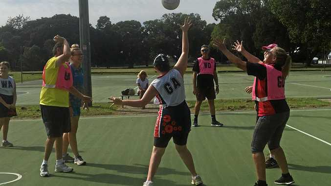 CRANES netball side took on the Ballina RSL Stingrays in friendly competition during the Grafton Netball Association senior representative carnival.