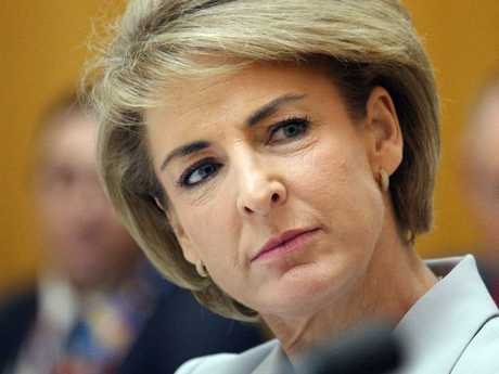 Senator Michaelia Cash's outburst against Bill Shorten has not helped the Coalition. Picture: Supplied