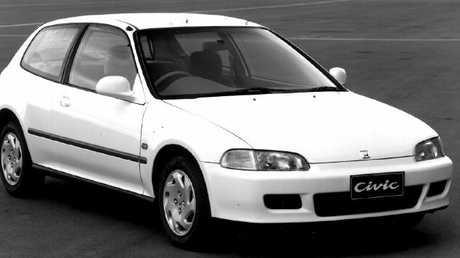 First car: Honda Civic.