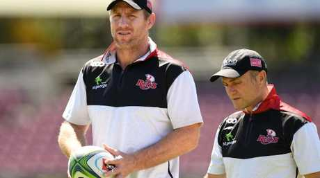 Brad Thorn has made one change to the Reds line-up.