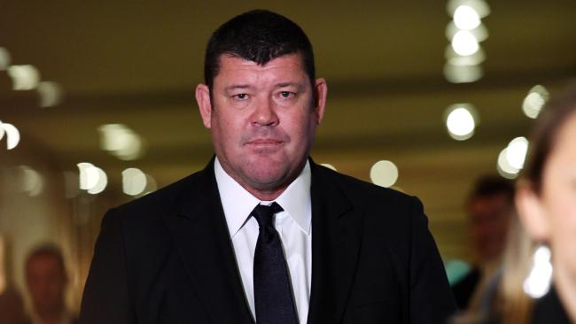 Crown Resorts director and cornerstone investor James Packer.