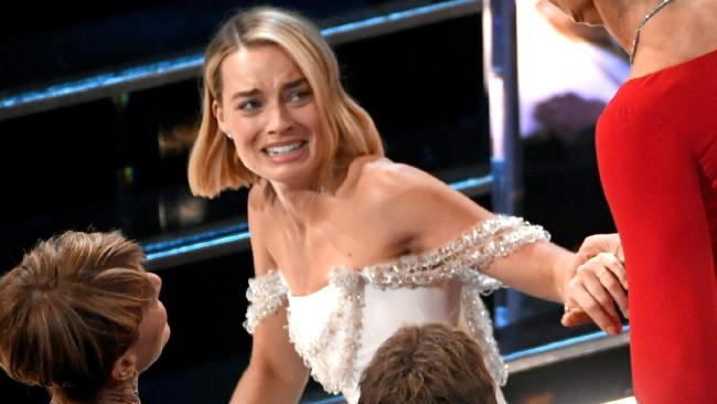 Margot Robbie S Wardrobe Malfunction Fraser Coast Chronicle