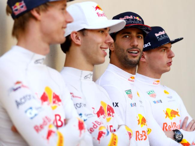 Toro Rosso's Brendon Hartley and Pierre Gasly will be hoping to win Daniel Ricciardo's seat if he leaves Red Bull.