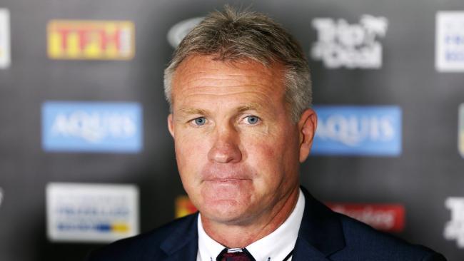 New Gold Coast boss Garth Brennan. Picture: Nigel Hallett