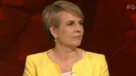 """""""I think staying quiet would be good idea,"""" Ms Plibersek said. Picture: ABC"""