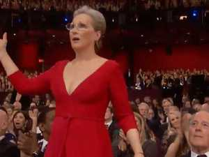 Oscars speech sends stars wild