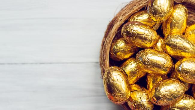 Parents are warning others to be careful when giving kids mini Easter eggs. Picture: iStock