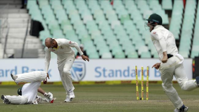 Bancroft half-century helps Australia tighten grip