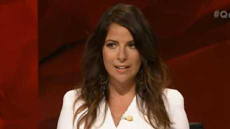 The Michaelia Cash topic was rumour. Barnaby Joyce was fact, Sharri Markson said. Picture: ABC