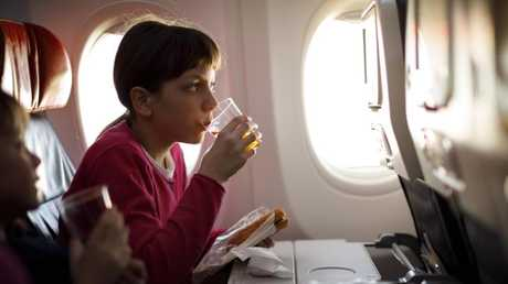 The food in first class is lot different from that served in economy. Picture: IStock