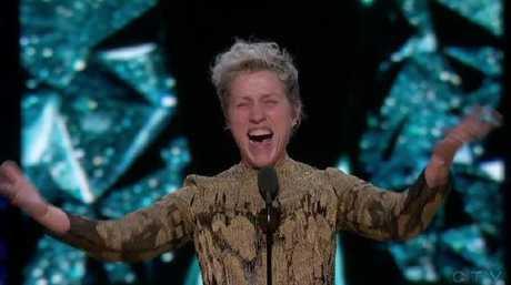 Frances McDormand's electrifying Oscars speech.