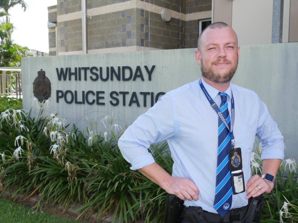 Whitsunday Detective Senior Constable Luke Scells who lead Opertation Mackay Dublin.