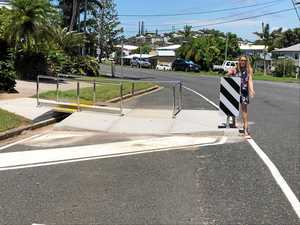 Yeppoon woman's safety fears after 'dangerous' ramp built