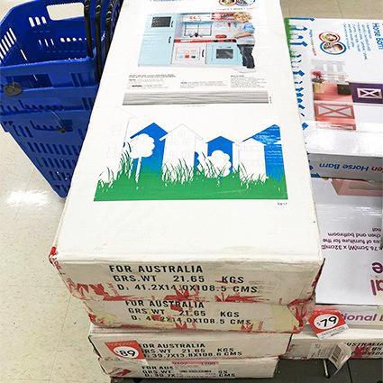 Kids kitchen toy at Kmart, $89