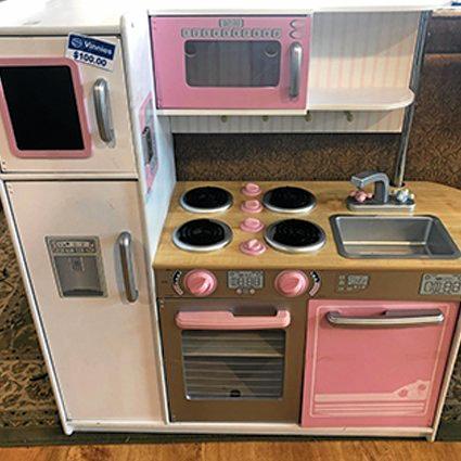 Kids kitchen toy at op shop, $100