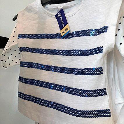T shirt at op shop, $4
