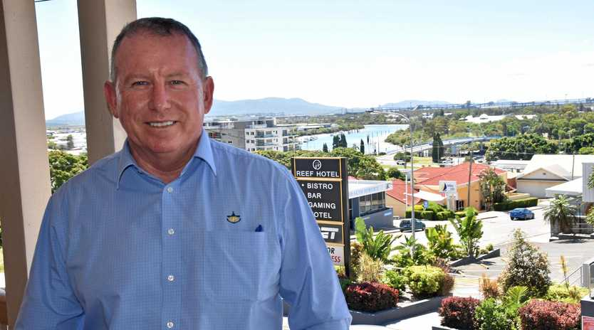 Peter O Sullivan, chief executive officer at Gladstone Ports Corporation.