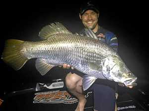 Fishing royalty wetting a line in Mackay