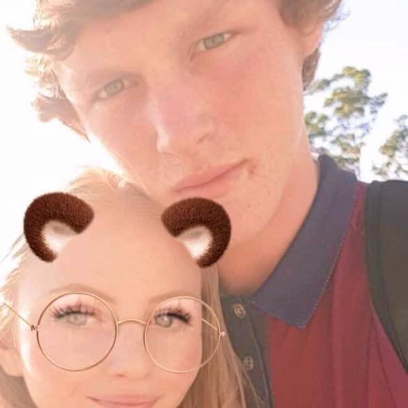 Jack Gunston, pictured with girlfriend Alyssa Mitchell, died suddenly just four days after his fifteenth birthday.