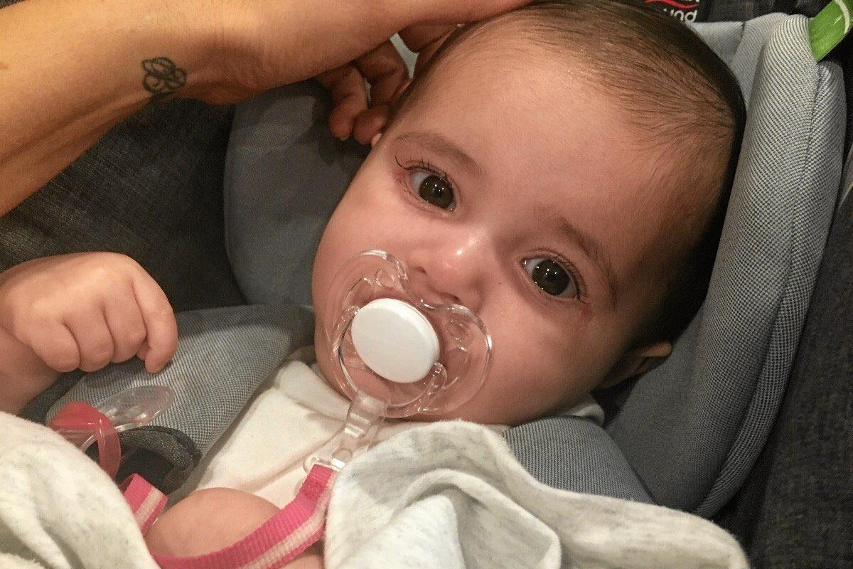 TRAGIC LOSS: Five-month-old Milania and brother Mateo, 4, need your help to get them through the toughest time of their lives.