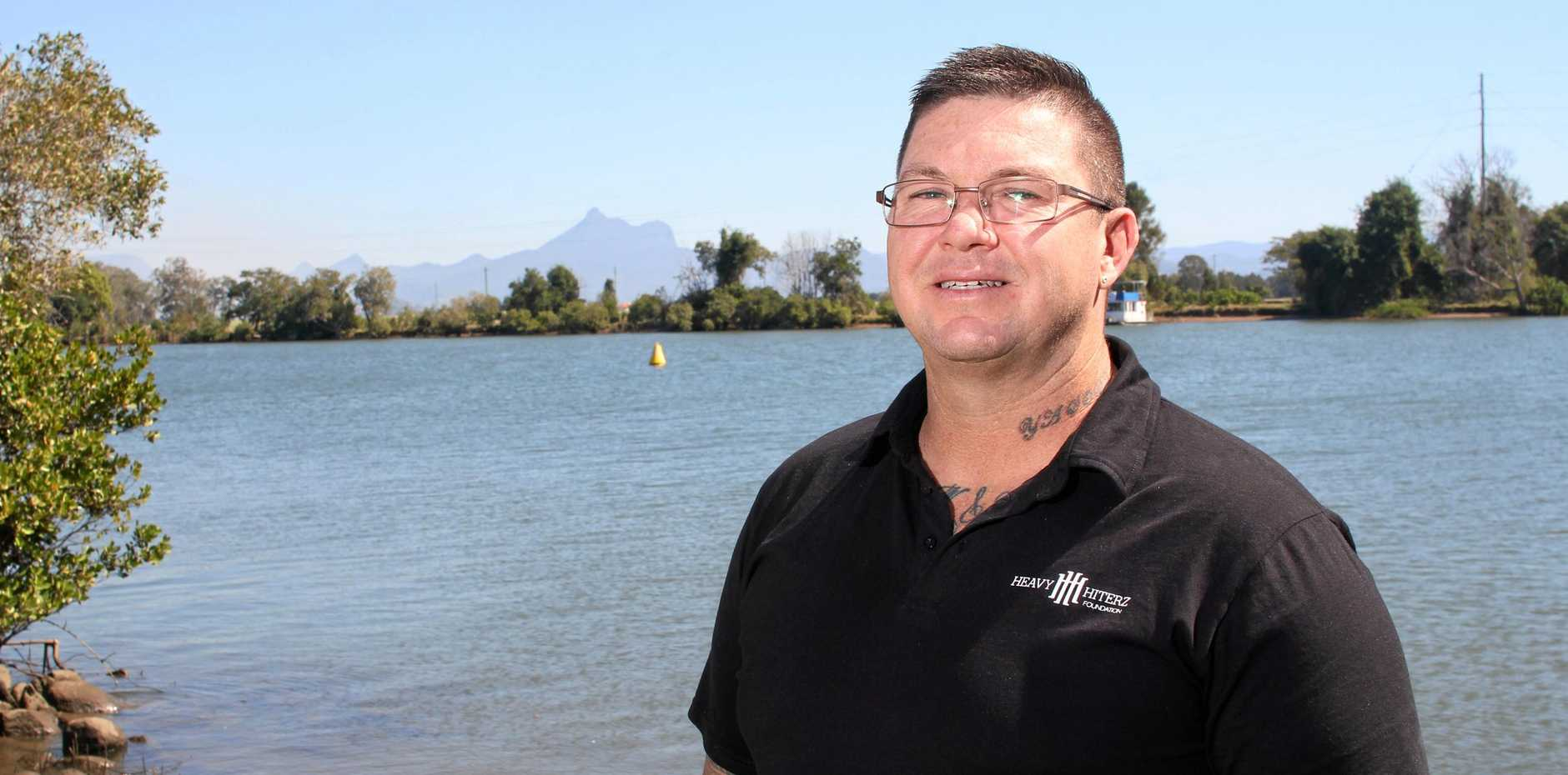HeavyHiterz Foundation founder Brent Simpson is standing up in support of bullying victim Brian Birchall.