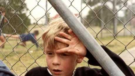 Tony Woodrow, aka T-Dub, at a Gympie school as a 13-year-old.