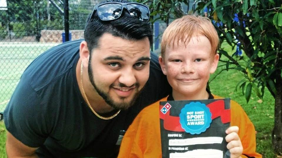 #stopbullying: Murray Benton with his brother Brian Birchall, a victim of persistent bullying.
