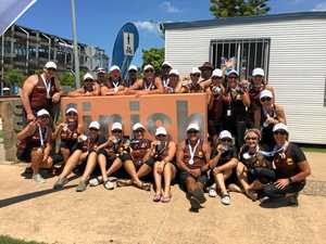 Silver success for crew