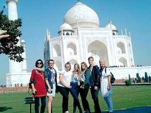Burnside's India trip takes students to sister school