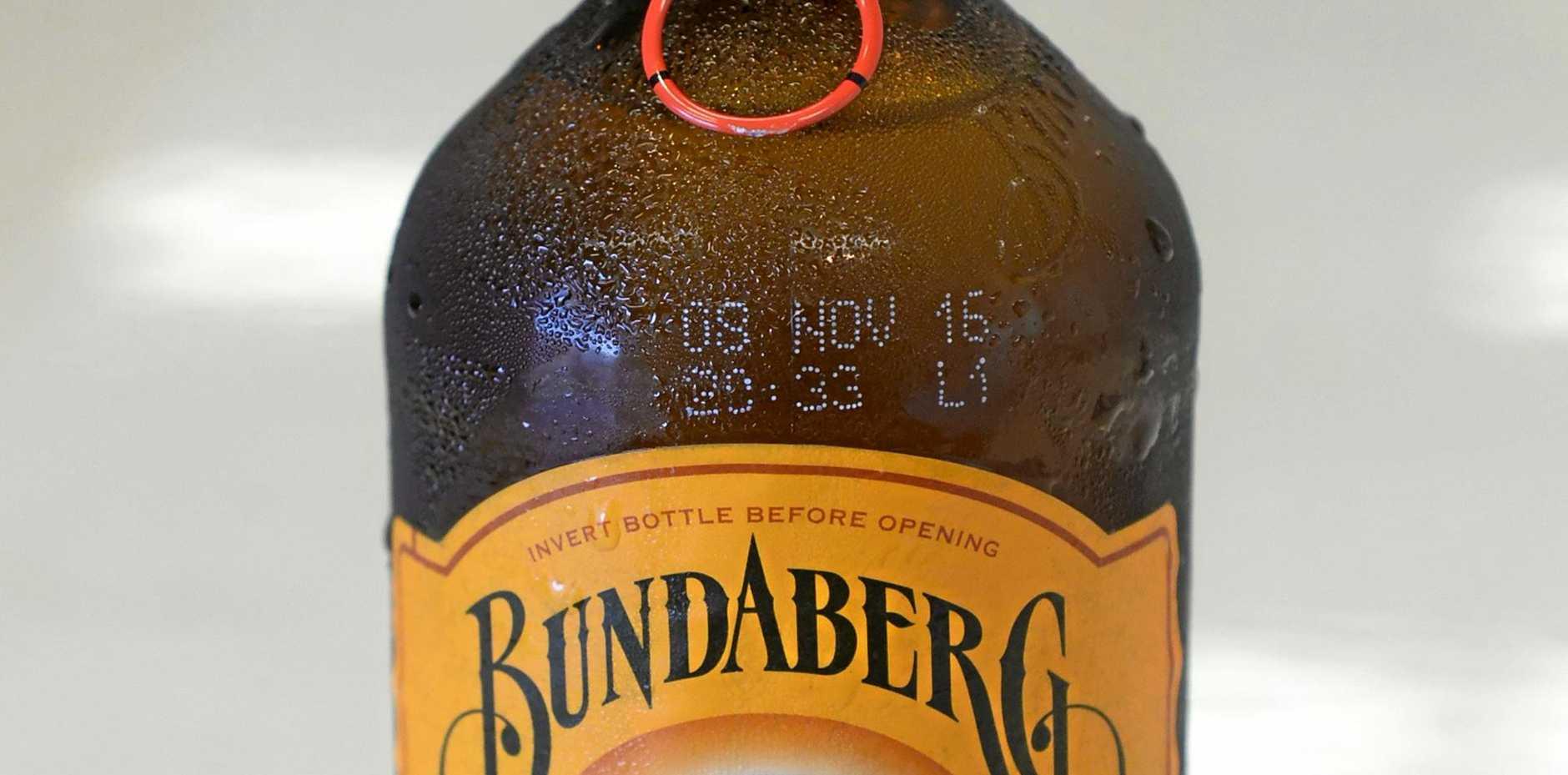 Bundaberg Ginger Beer.
