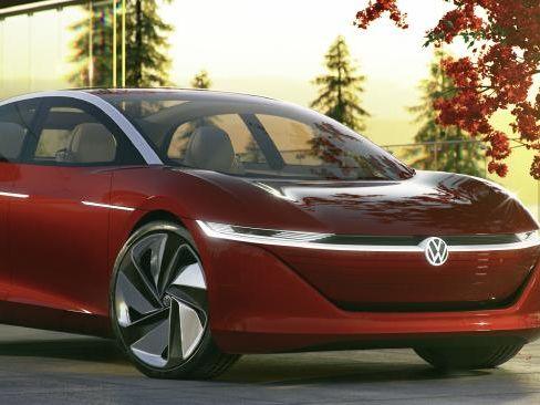 Geneva Motor Show: Volkswagen ID Vizzion Concept Revealed