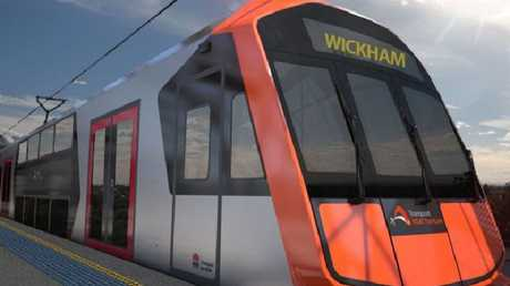 The $2.3 billion trains are due to be introduced from 2019.