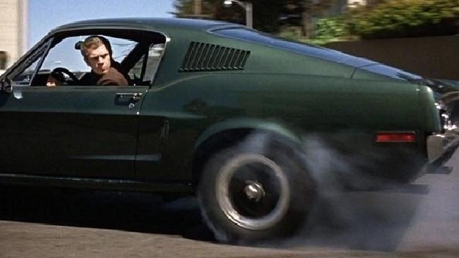 Legend ... Steve McQueen in the 1968 movie, Bullitt. Picture: Supplied.
