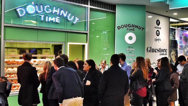 Doughnut Time has hit financial ruins.