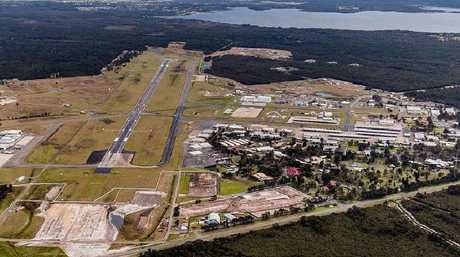 Williamtown RAAF base. Picture: News Corp